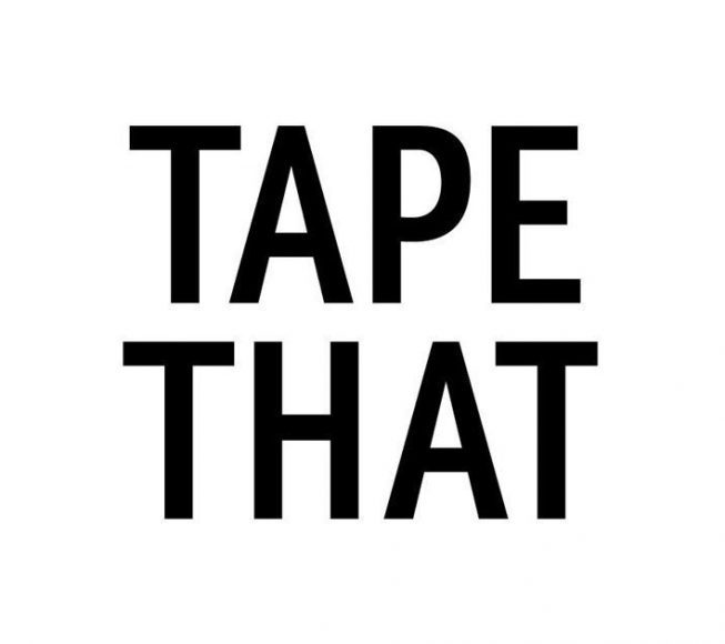 Tape That Logo