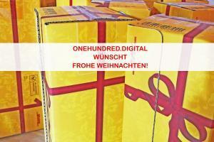 onehundred.digital wünscht Frohe Weihnachten!