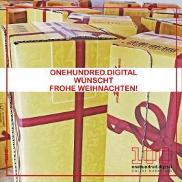 Frohe Weihnachten von onehundred.digital