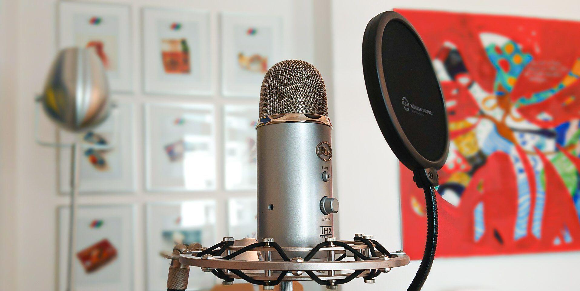 Podcast Agentur Berlin Mikrofon